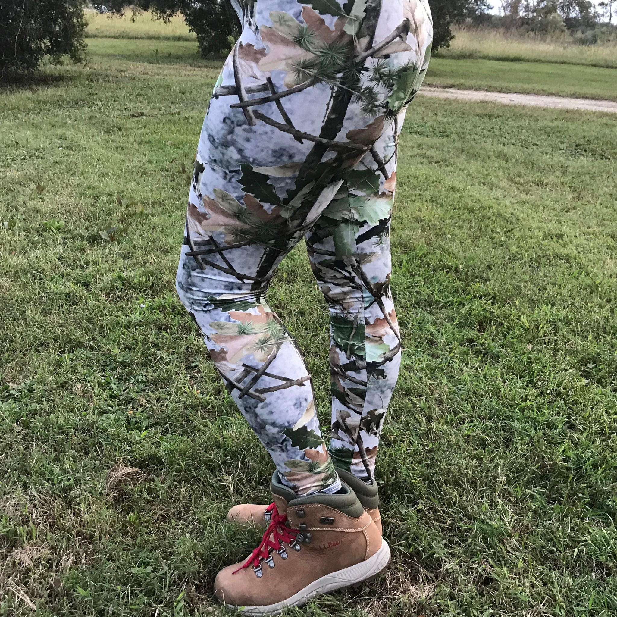 Country Bumpkin Leaf Camo Leggings