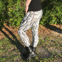 3D Tree Bark Camo - Camouflage Leggings / Yoga / Fitness Pants