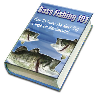 Bass Fishing 101 eBook