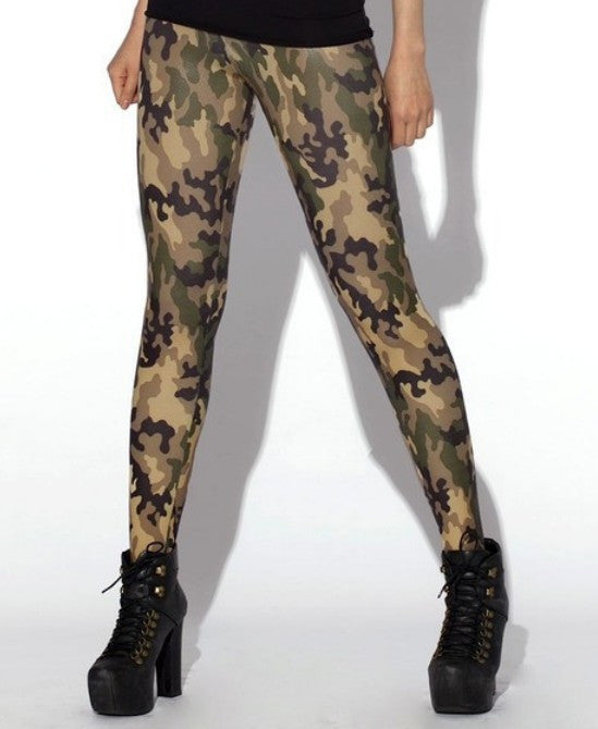 cceae55bc58aa HOT Sexy Fashion Womens Leggings Camo Pants Green/Pink Army Camo ...