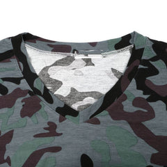 Women's Camo Long Sleeve T Shirt