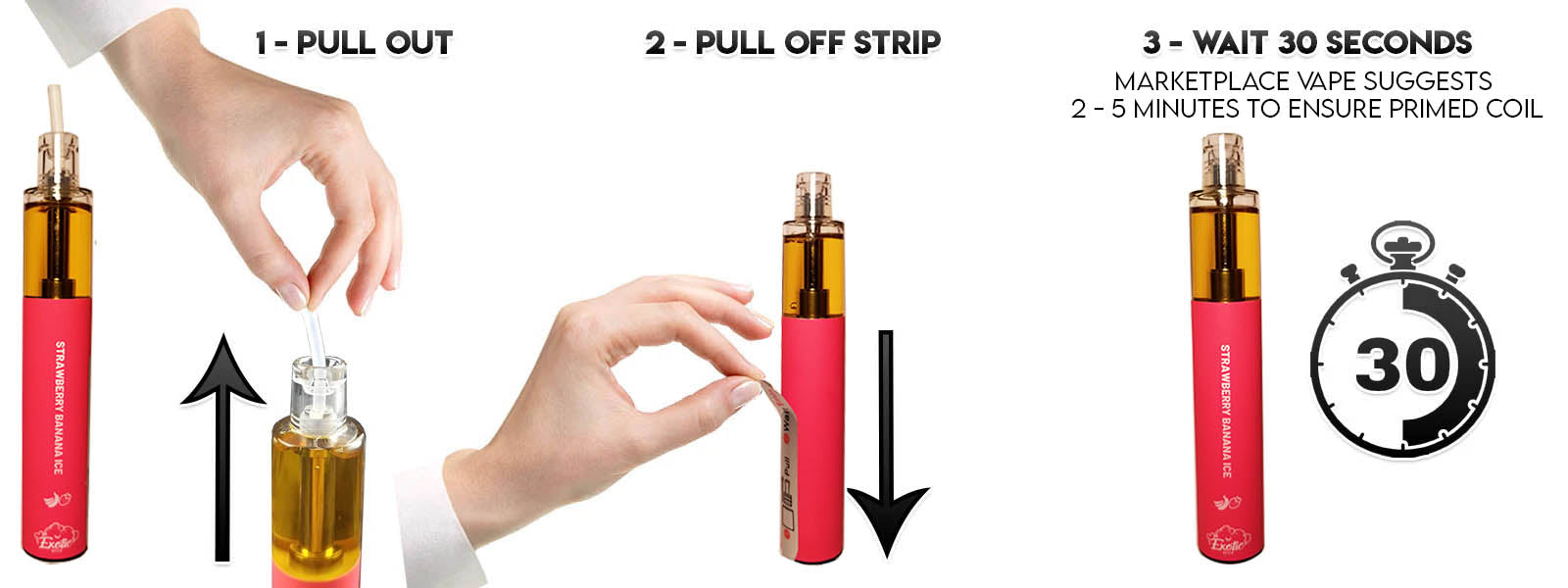 How to use the Exotic Stick 2000+ Puff Disposable