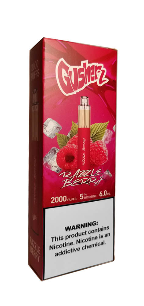 Gusherz Razzle Berry 2000 Puff Disposable Available at Marketplace Vape