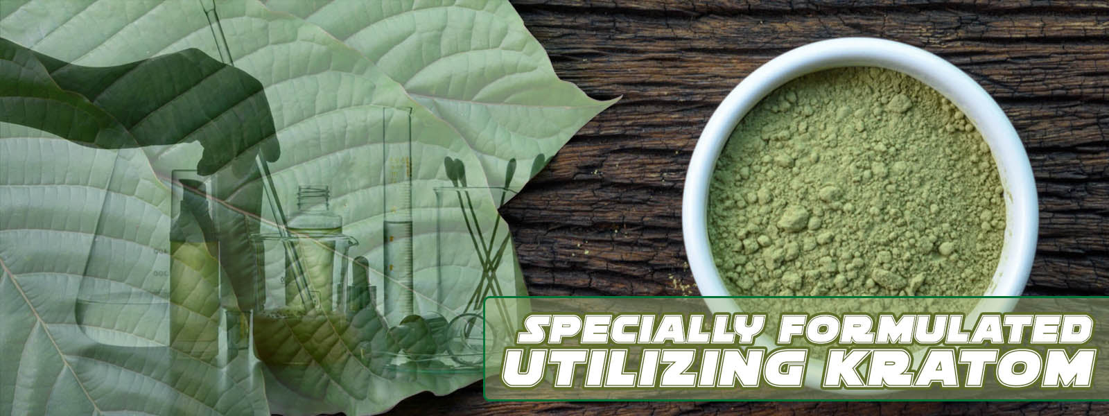 Relax Aid utilizes Kratom to give you a great calm