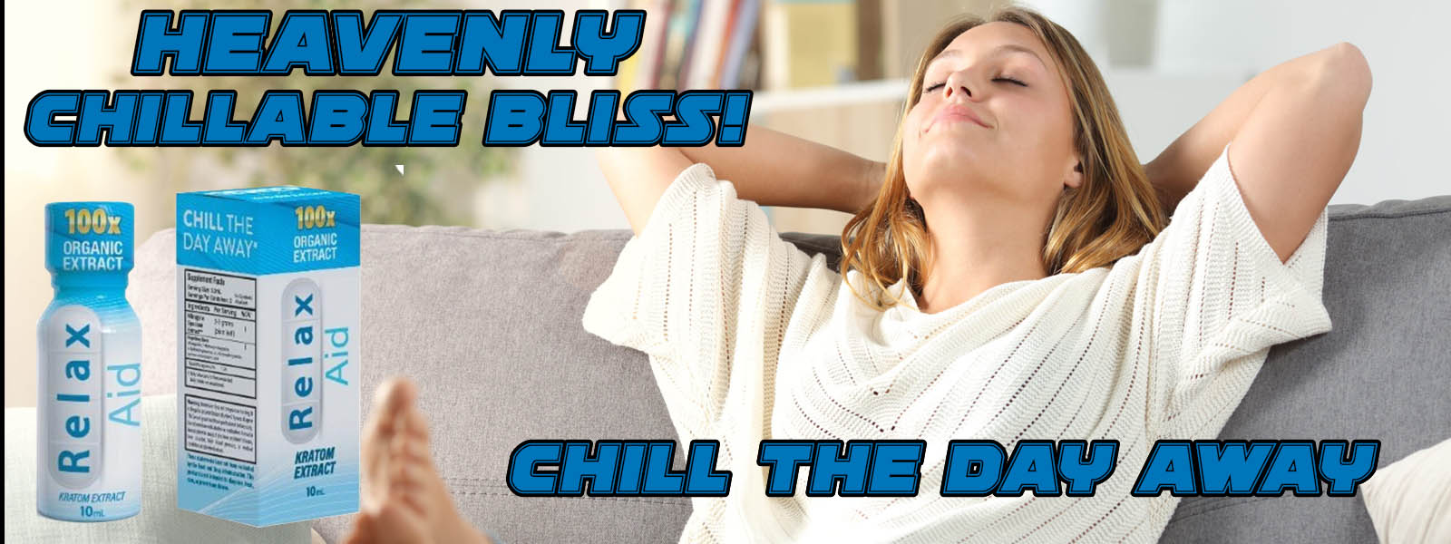 Relax Aid 100X - Chill, Relax