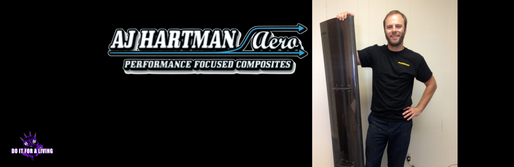 Episode 070: AJ Hartman details how he transitioned from working at a body shop to manufacturing composite aero parts