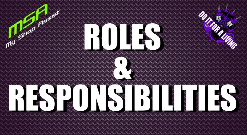 Roles and Responsibilities for Each Employee