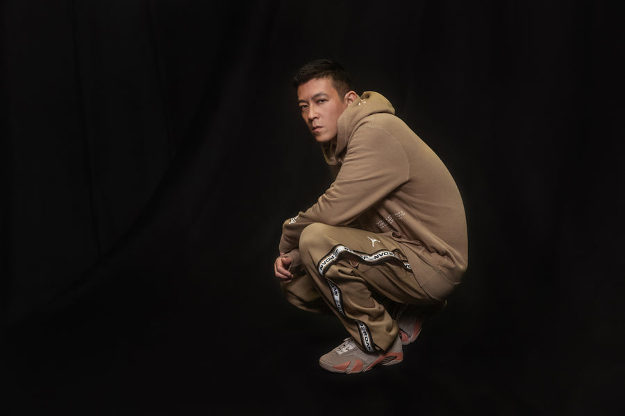 "Air Jordan XIV x CLOT ""TERRACOTTA"" Campaign Featuring Edison Chen Shot by Kenneth Cappello"