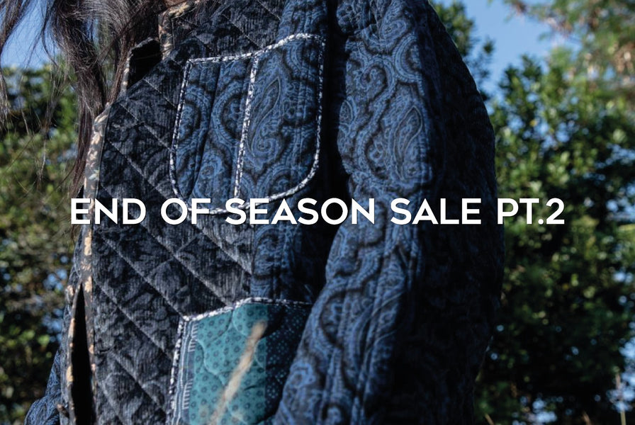 End of Season Sale - Up to 50% OFF Selected Fall/Winter 2020 Brands!