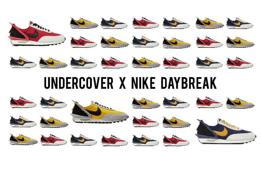 Raffle: UNDERCOVER x Nike Daybreak releases three brand new colorways!