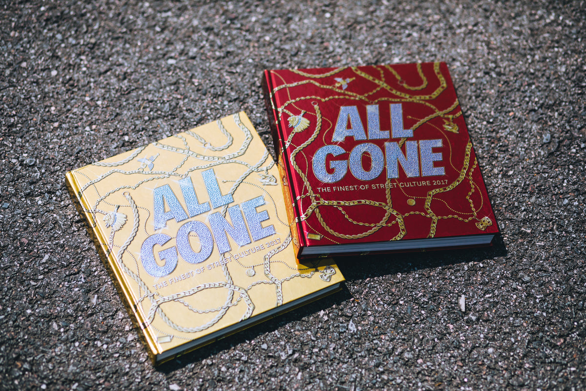 ALL GONE 2017 HONG KONG OFFICIAL BOOK LAUNCH