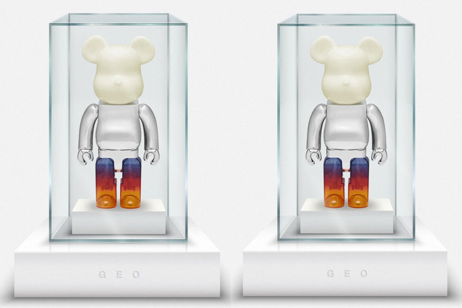 JUICE HOLIDAY GIVEAWAY - GEO X Medicom Toy BE@RBRICK 400%