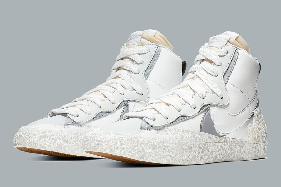 "JUICE HOLIDAY GIVEAWAY Day 5 -  Sacai x Nike Mid Blazer ""White/Wolf Grey"""