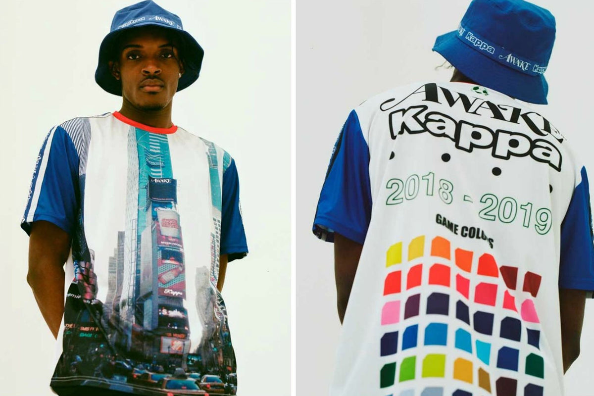 The Angelo Baque Treatment: Kappa x Awake NY