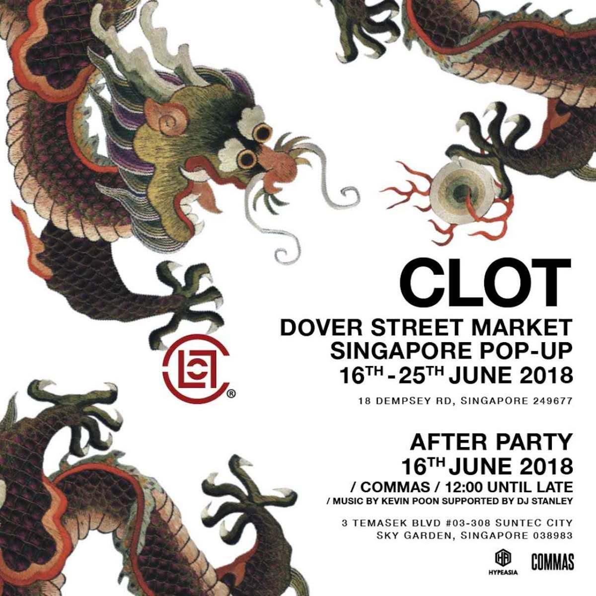 CLOT at Dover Street Market Singapore