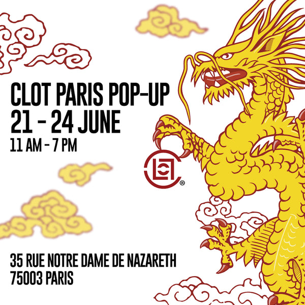 CLOT PARIS POP-UP 2018