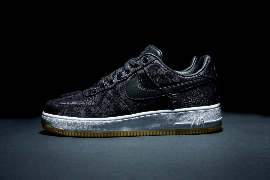 CLOT x fragment design x Nike BLACK SILK AIR FORCE 1 Dropping on November 29