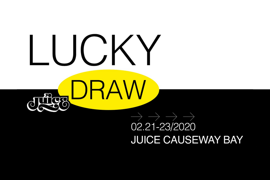 Surprise Lucky Draw at JUICE Causeway Bay!