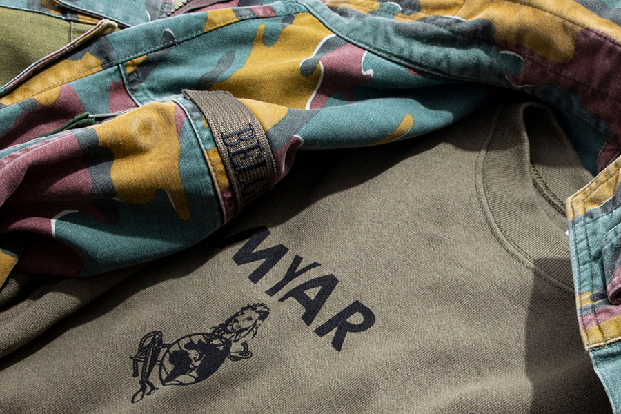 MYAR Repurposes Vintage Military Garments for Fall/Winter 2019