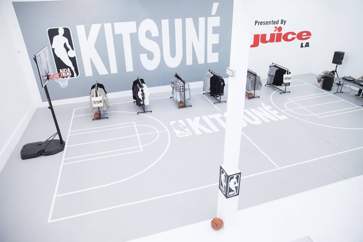 Kitsuné x NBA's First Ever Collaboration Comes to JUICE LA and Hong Kong