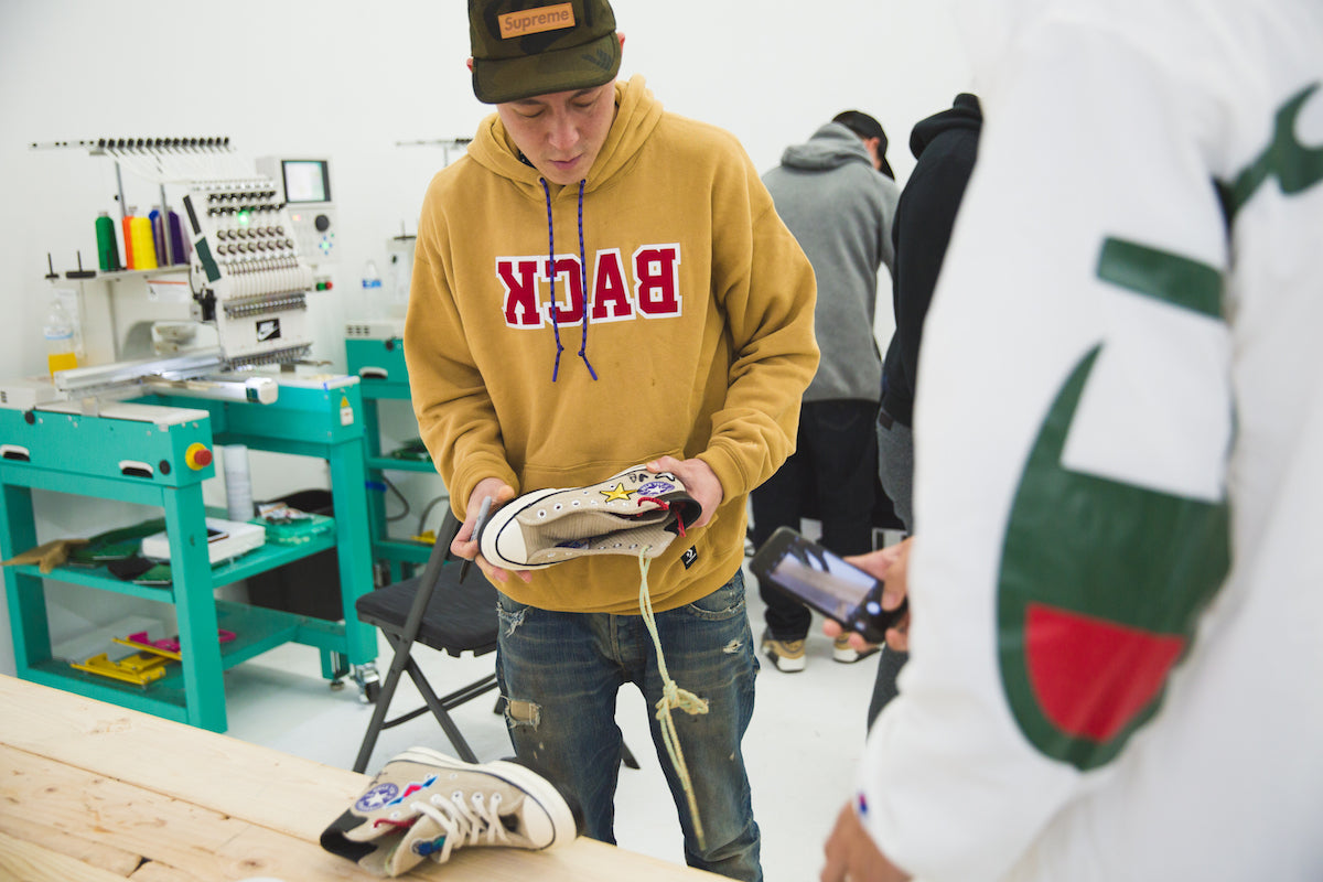 JUICE LA Sneaker and Apparel Customisation with EDC