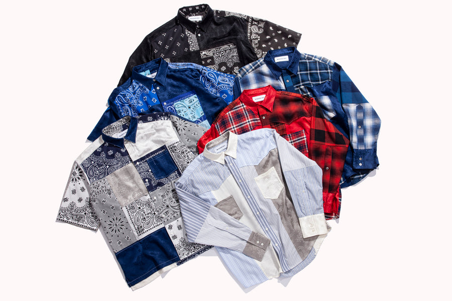 CLOT TEAMS UP WITH MIYAGIHIDETAKA ON SECOND ROUND OF HANDMADE SHIRTS