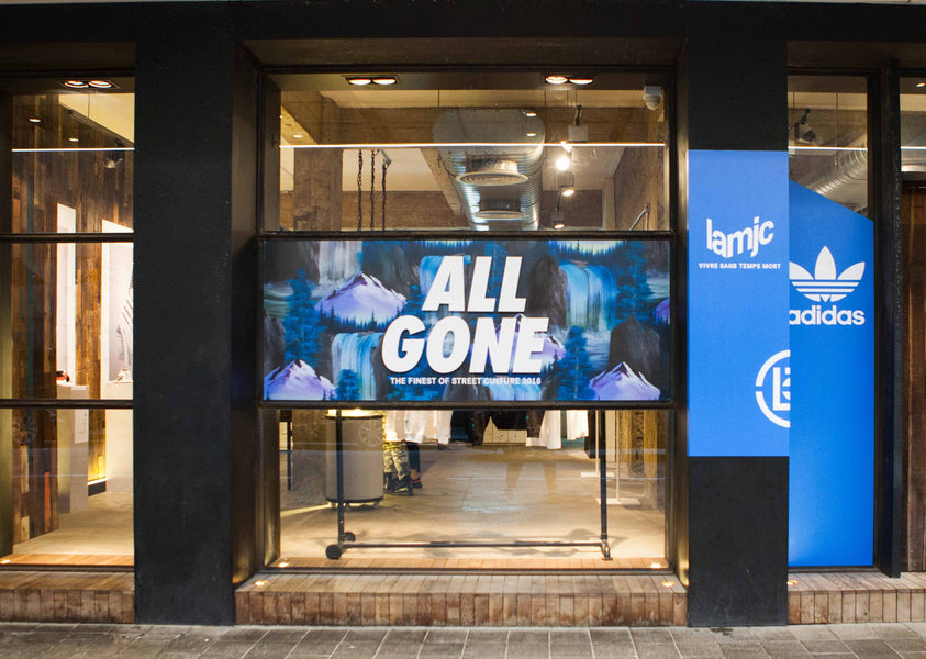 """ALL GONE 2016"" in Hong Kong, Shanghai & Chengdu"