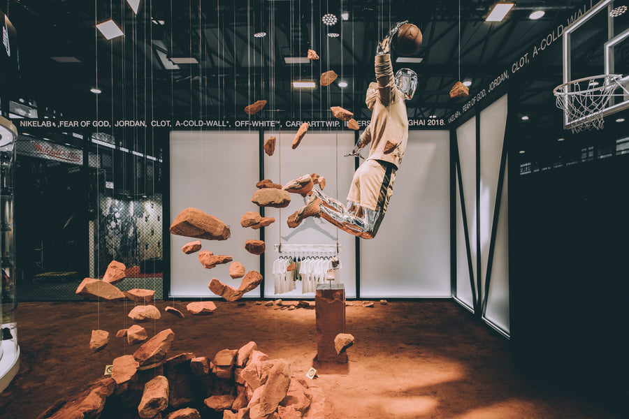 Inside the CLOT x Jordan Brand Pop-Up at Innersect Shanghai