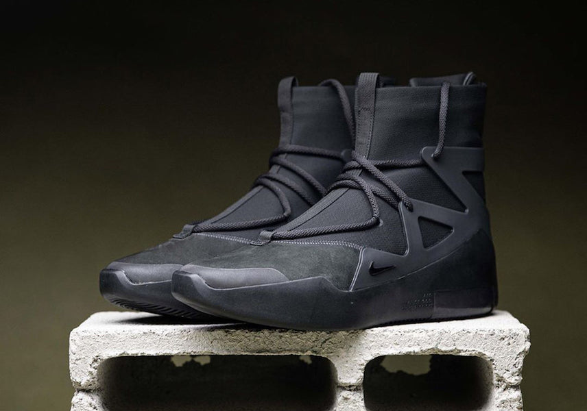 "RAFFLE: Nike Air Fear of God 1 ""Triple Black"""