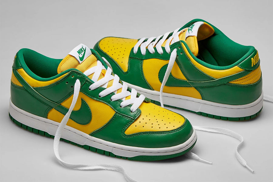 "RAFFLE: Nike Dunk Low SP ""Brazil"""