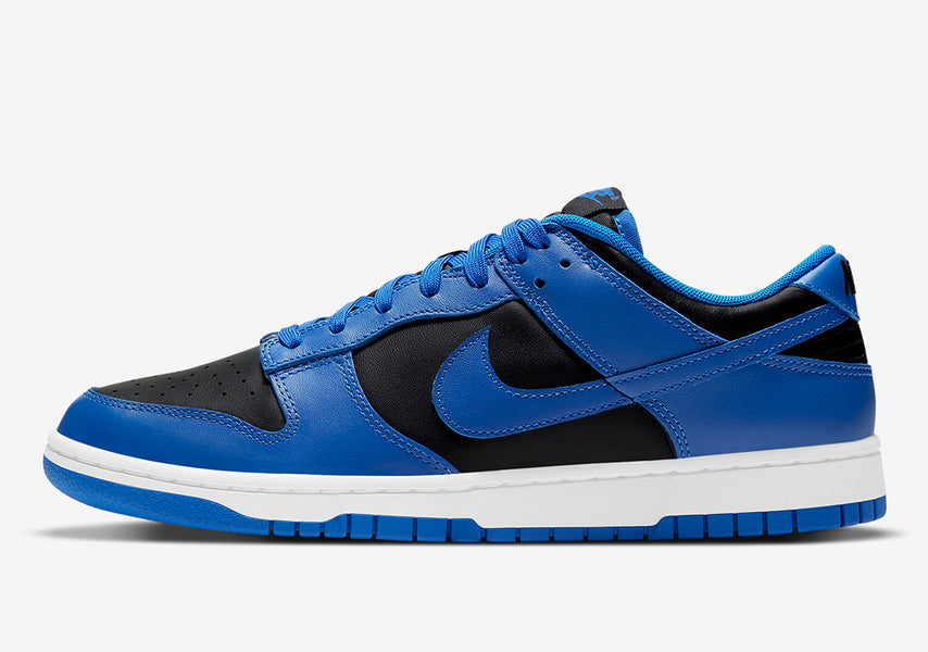 "RAFFLE: NIKE DUNK LOW RETRO ""BLACK/HYPER COBALT-WHITE"""