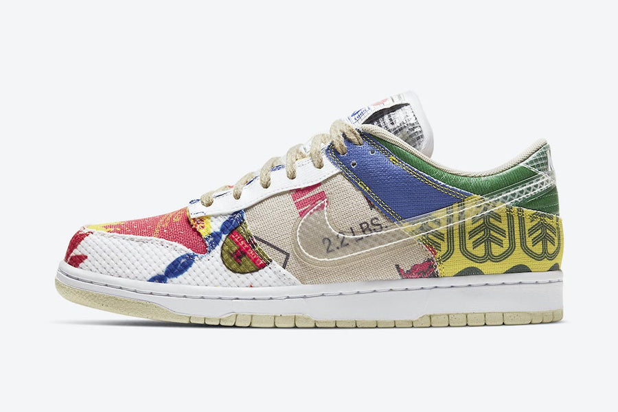 "RAFFLE: Nike Dunk Low SP ""City Market"""