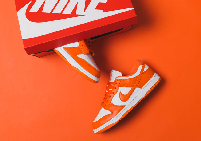 "RAFFLE NOW OPEN: NIKE DUNK LOW SP ""SYRACUSE"""