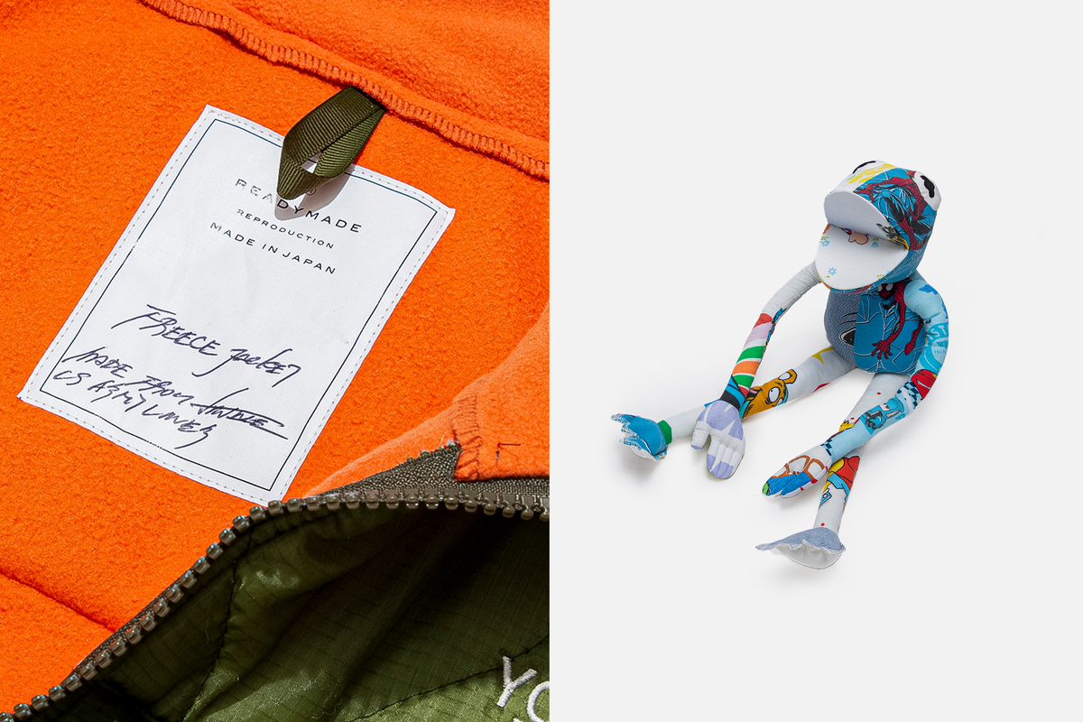 READYMADE CAPSULE FEATURES FROGMAN COLLECTABLE TOY & MORE