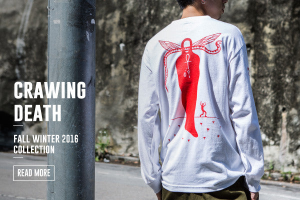 CRAWLING DEATH FALL WINTER 2016 COLLECTION
