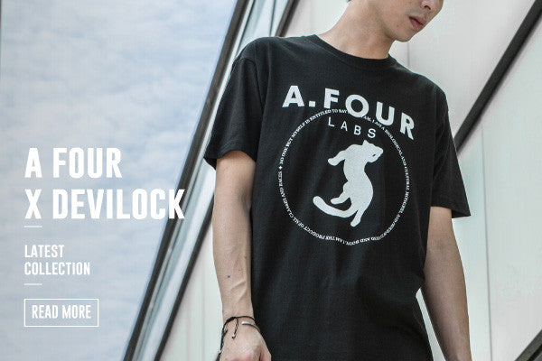 A FOUR x DEVILOCK LATEST COLLECTION
