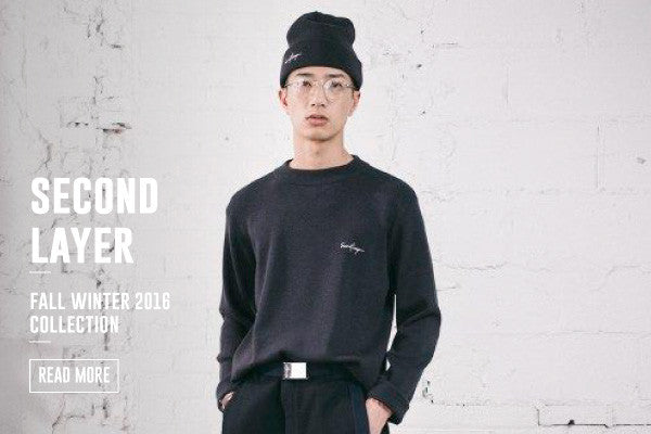 SECOND/LAYER FALL WINTER 2016 COLLECTION IS NOW LIVE