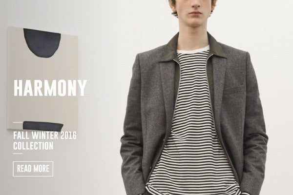 HARMONY FALL WINTER 2016 COLLECTION IS NOW LIVE