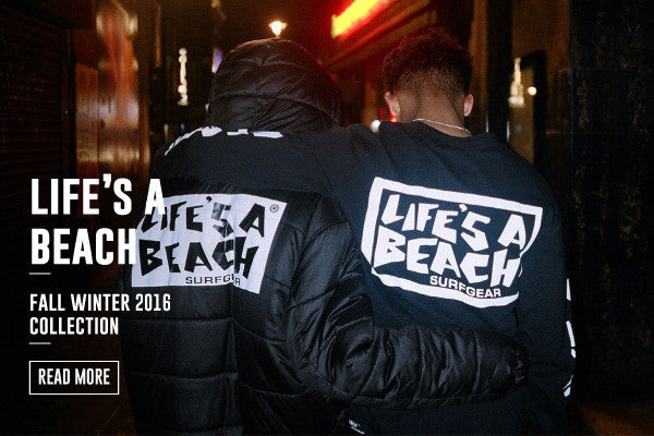 LIFE'S A BEACH FALL WINTER 2016 COLLECTION IS NOW LIVE