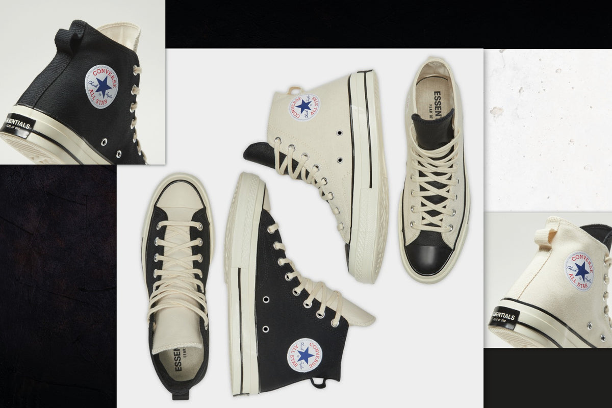 RAFFLE: Fear Of God ESSENTIALS x Converse Chuck 70 Hi