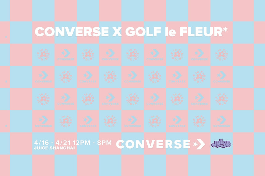 Tyler, the Creator and Converse unveils the latest GOLF le FLEUR* x Converse Gianno in two colorways!