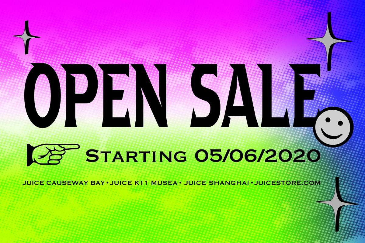 JUICE OPEN SALE BEGINS - Tap for More Details!