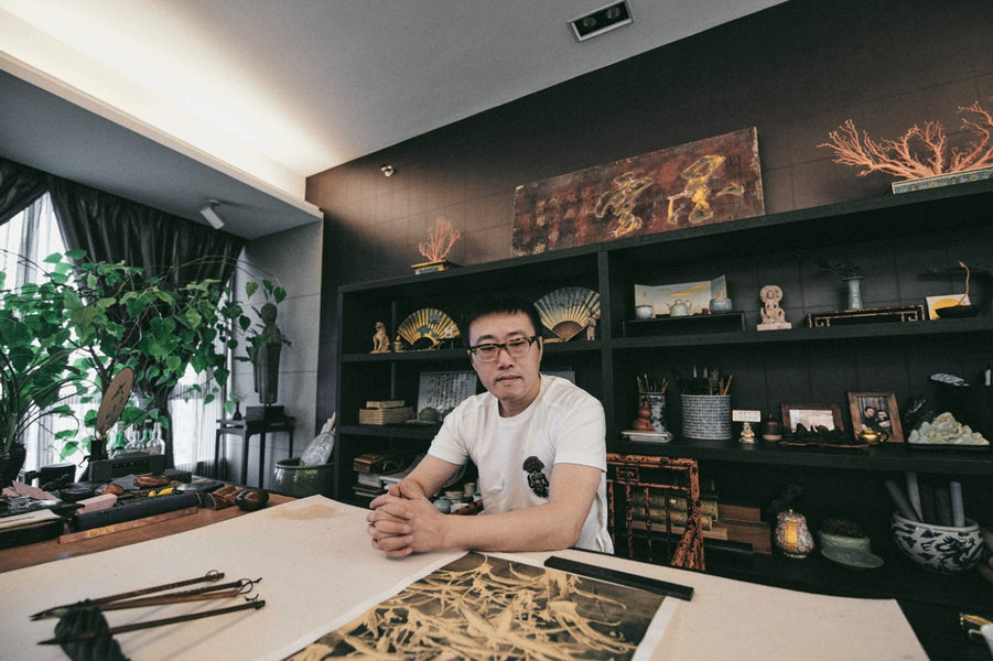 DESIGN 101: REN ZHONG FOR CLOTTEE INSIDE HIS STUDIO