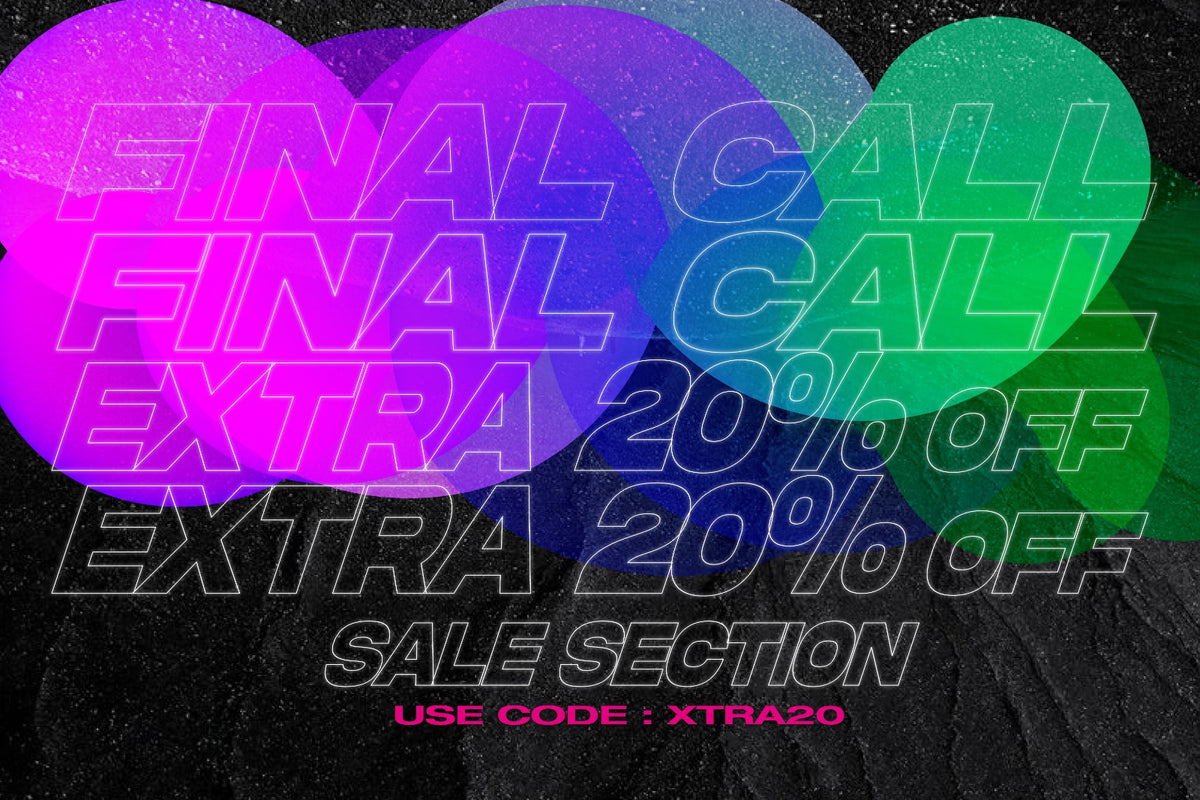 FINAL CALL - End of Season Sale items with an Extra 20% OFF!