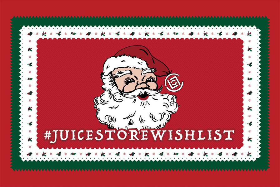 Holiday #JUICESTOREWISHLIST Campaign and Giveaways at JUICE!