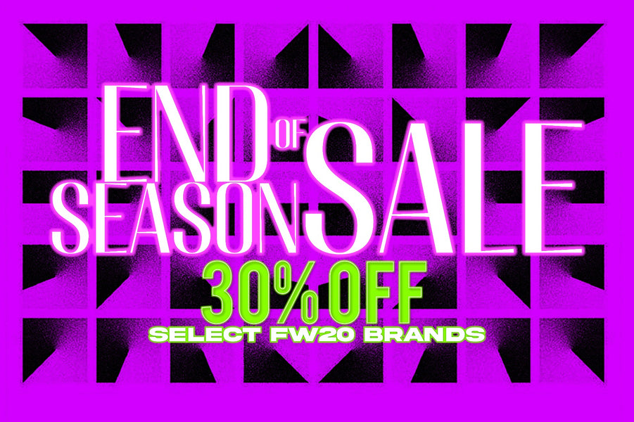 Fall/Winter 2020 End of Season Sale at JUICE!