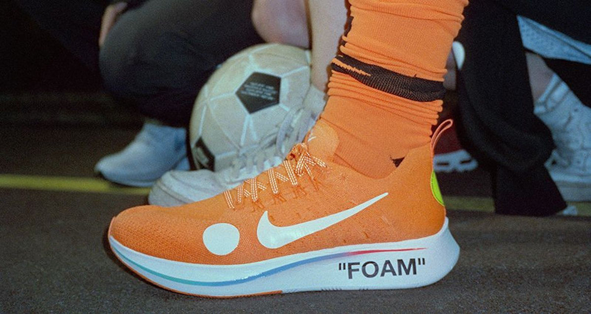 NIKE ZOOM FLY MERCURIAL FLYKNIT x OFF-WHITE