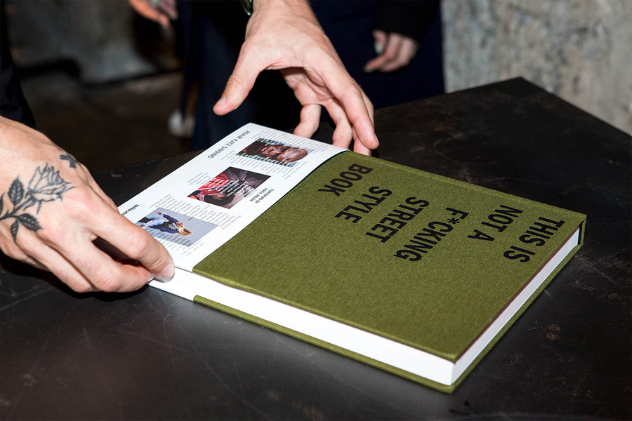 This is Not a F*cking Street Style Book Official Hong Kong Launch