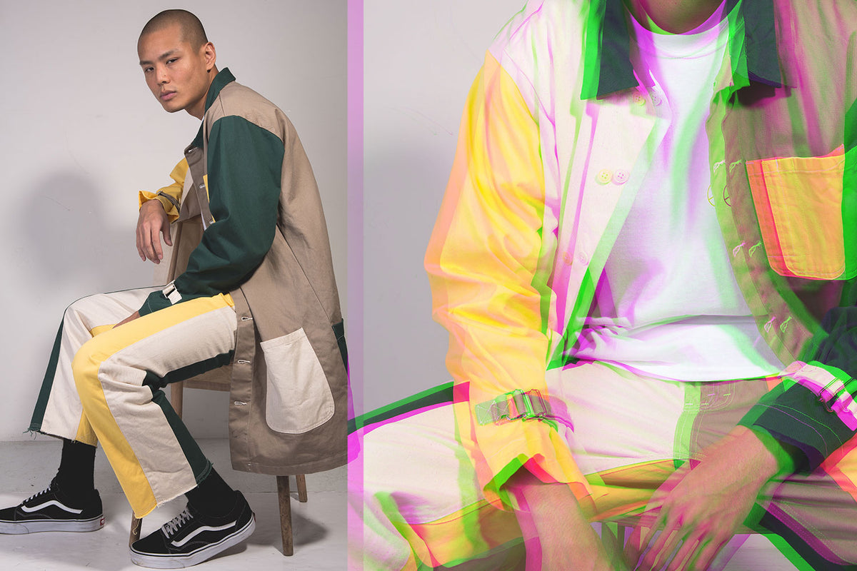 AïE's Latest Collection Is a Lesson in Colorblocking