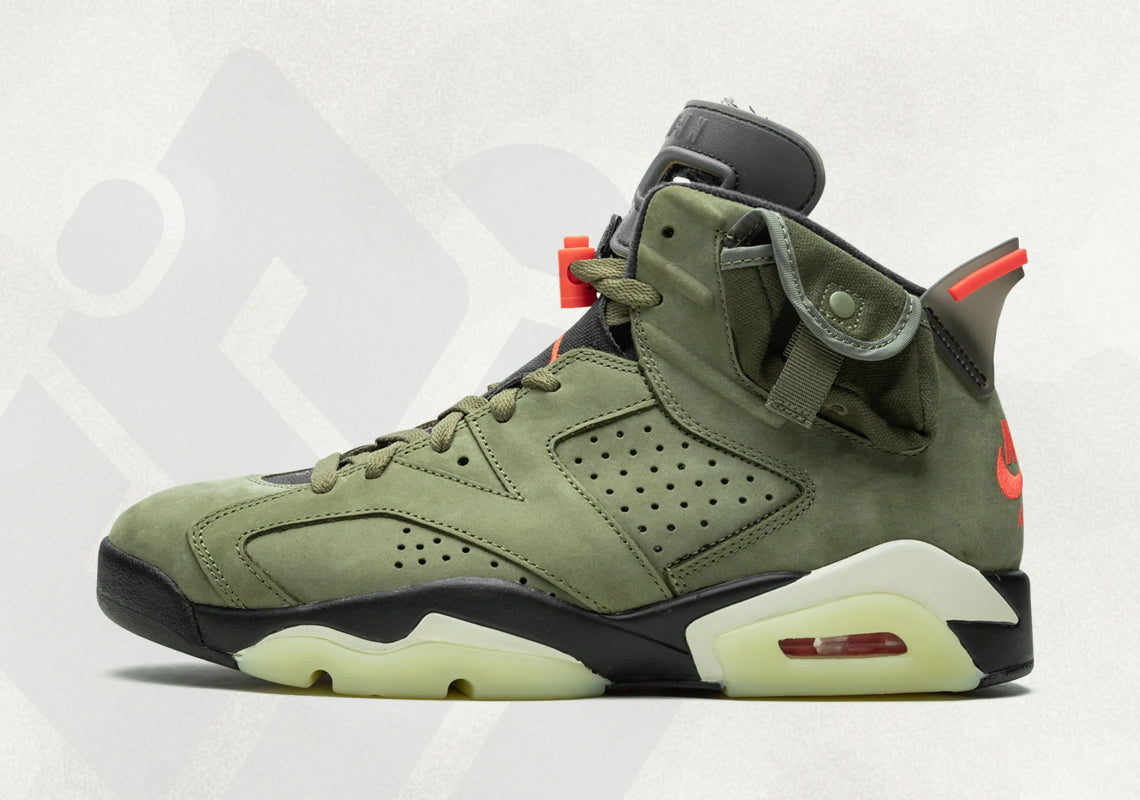 Raffle Is Now Live: Travis Scott x Air Jordan 6